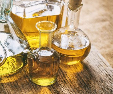 Types of fats in vegetable oils
